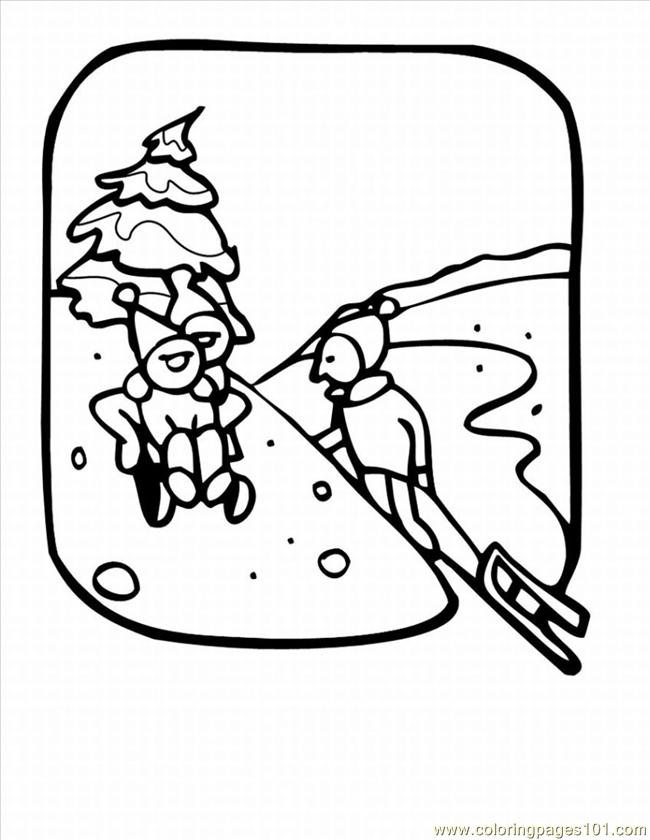 Winter Coloring Pages 23 Lrg Coloring Page