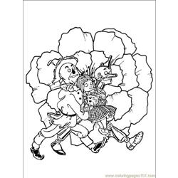 Wizard Oz 012 (8) Free Coloring Page for Kids