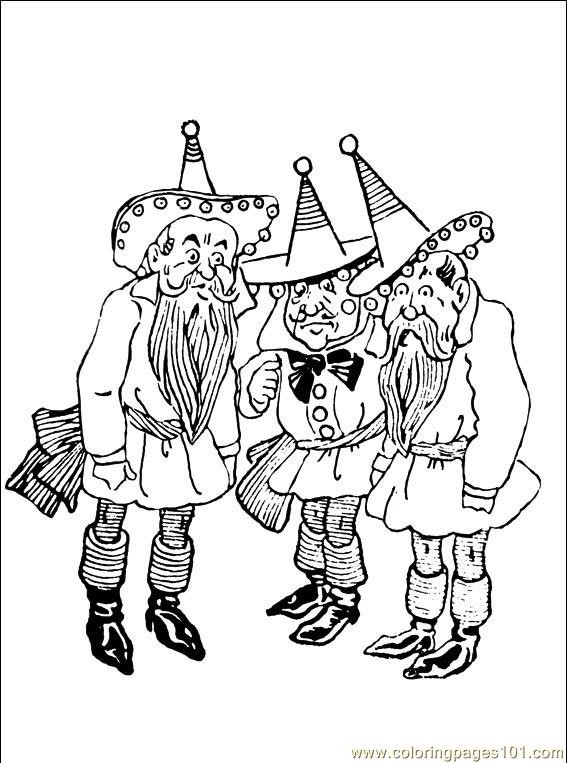 Wizard Oz 001 5 Coloring Page For Kids Free Wizard Of Oz Printable Coloring Pages Online For Kids Coloringpages101 Com Coloring Pages For Kids