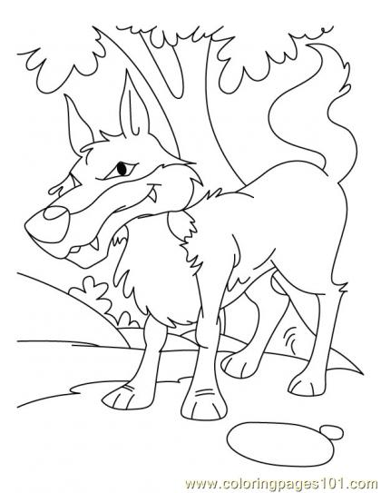 Wolf Coloring Page11 Coloring Page Free Wolf Coloring Pages