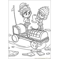 Wreck It Ralph 17 coloring page