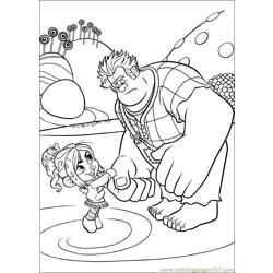 Wreck It Ralph 18 coloring page