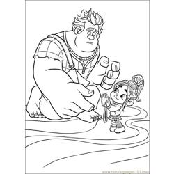 Wreck It Ralph 22 coloring page