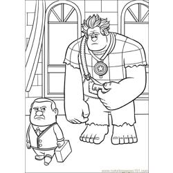 Wreck It Ralph 23 coloring page