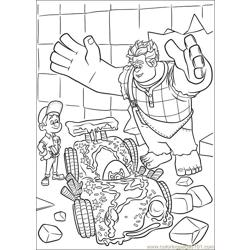 Wreck It Ralph 24 coloring page