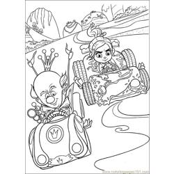 Wreck It Ralph 26 coloring page