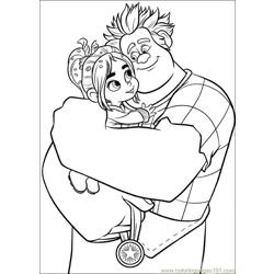 Wreck It Ralph 30 coloring page