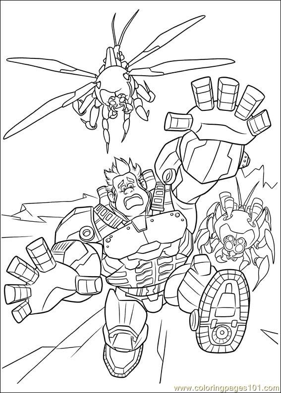 Wreck It Ralph 08 Coloring Page