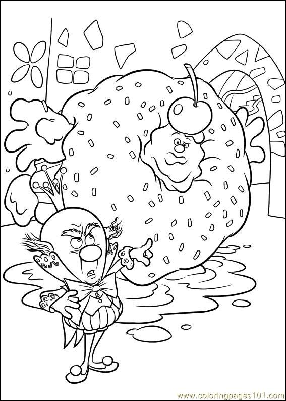 Wreck It Ralph 16 Coloring Page
