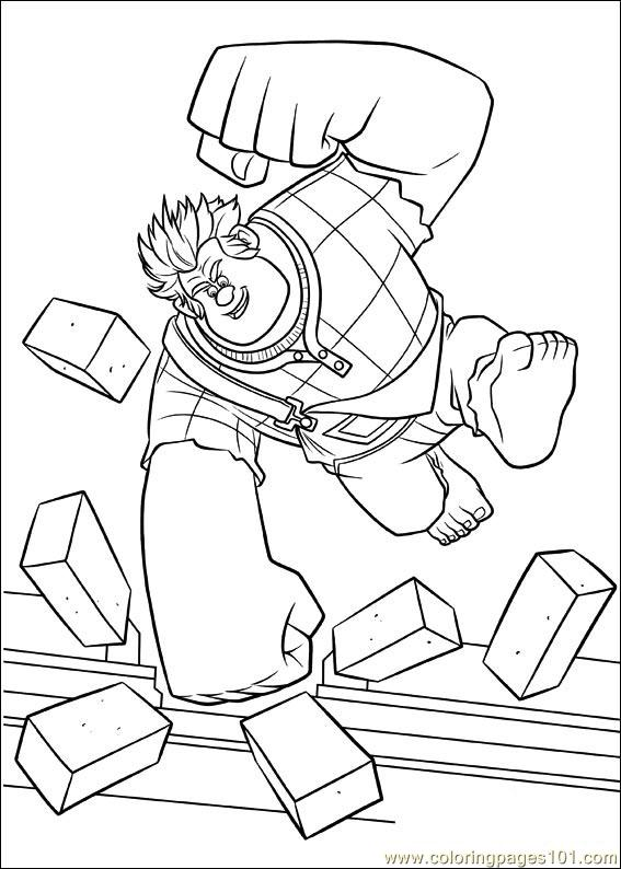 Wreck It Ralph 32 Coloring Page
