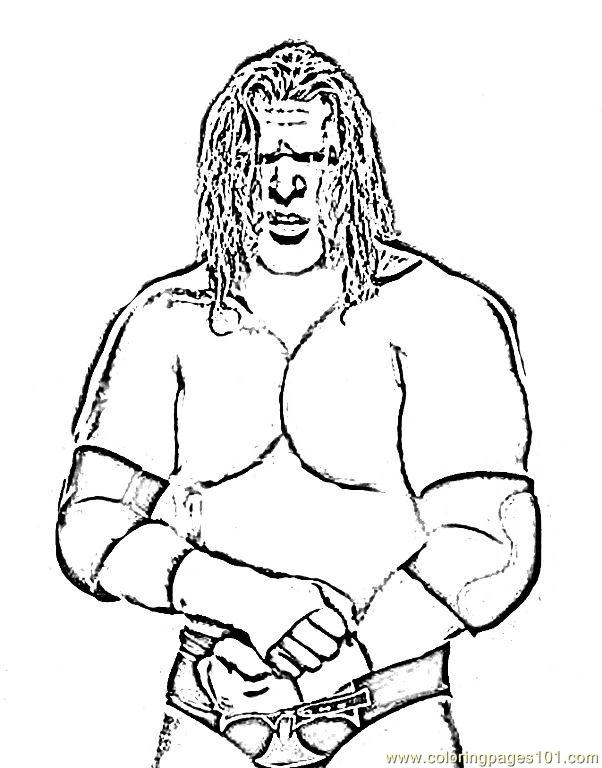 Wrestlers (7) Coloring Page - Free Wrestling Coloring Pages ...