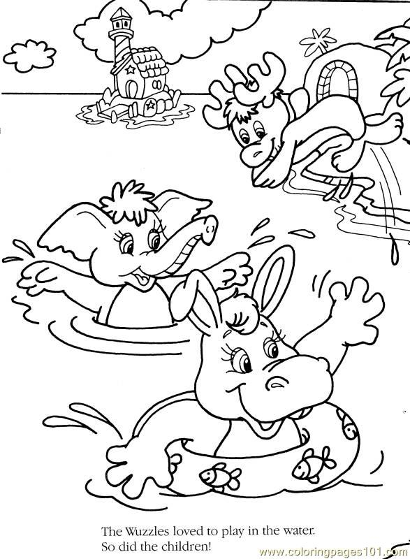 Wuzzles3 Coloring Page