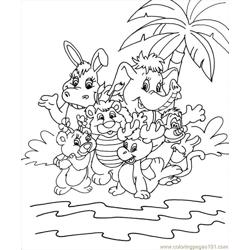 Wuzzles4 coloring page