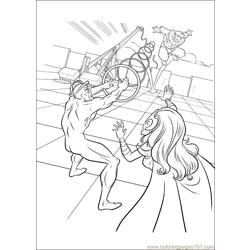 Xmen 27 Free Coloring Page for Kids