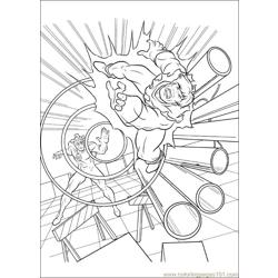 Xmen 28 Free Coloring Page for Kids