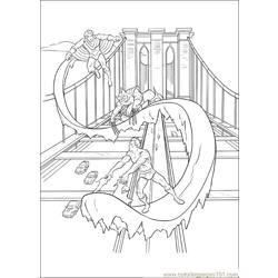 Xmen 29 Free Coloring Page for Kids