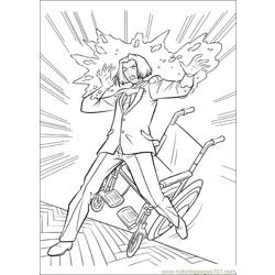 Xmen 33 Free Coloring Page for Kids