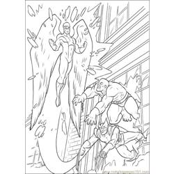 Xmen 34 Free Coloring Page for Kids