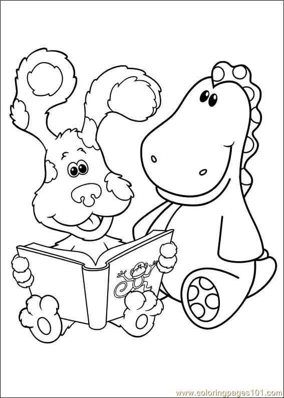 blues clues 32 coloring page free printable coloring pages