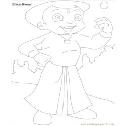 Chota Bheem Coloring Pages 3