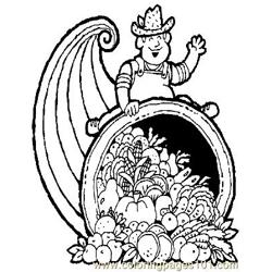 Down On The Farm (37) Free Coloring Page for Kids