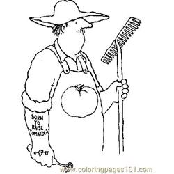 Down On The Farm (38) Free Coloring Page for Kids