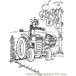 Down On The Farm (39) Free Coloring Page for Kids