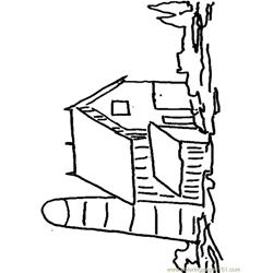 Down On The Farm (4) Free Coloring Page for Kids