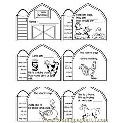 Down On The Farm (6) coloring page