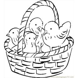 Chicks In Basket 1