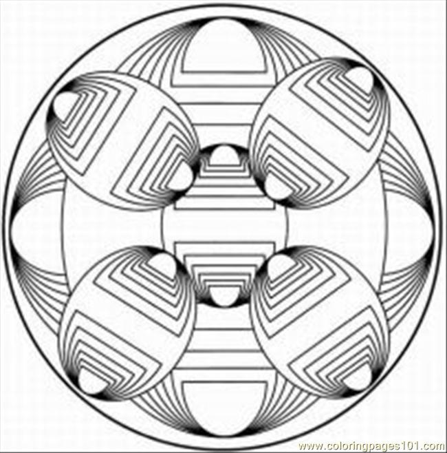 Kaleidoscope 16 Coloring Page Free kaleidoscope Coloring Pages