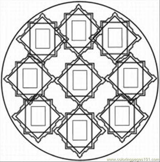 kaleidoscope coloring pages to download - photo #19