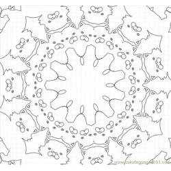 Kaleidoscope 14lrg coloring page