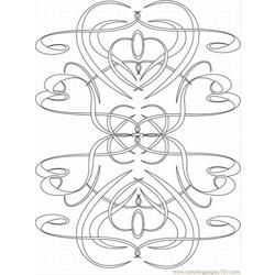 Kaleidoscope Lrg Free Coloring Page for Kids
