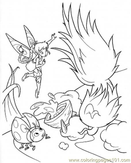 Tinker bell coloring pages - Hellokids.com | 567x455