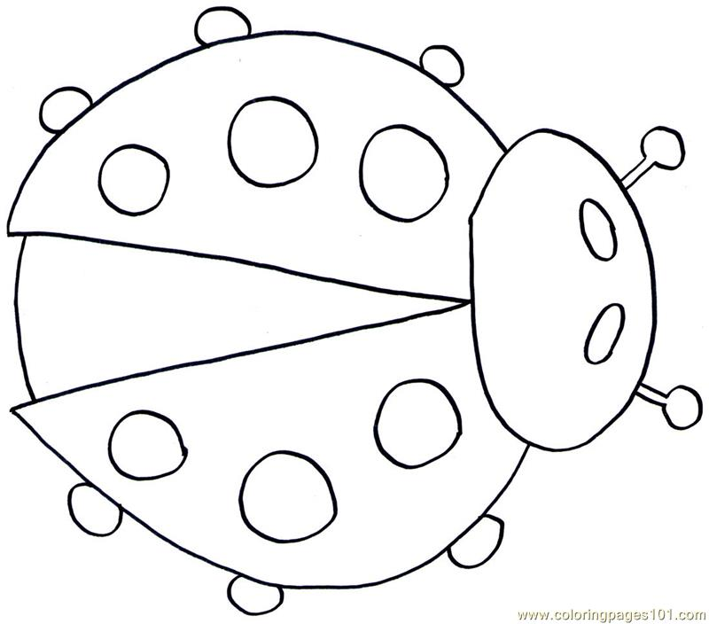 Ladybug coloring page free ladybugs coloring pages for Coloring pages ladybug
