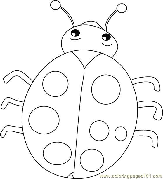 Ladybug Coloring Page - Free ladybugs Coloring Pages ...