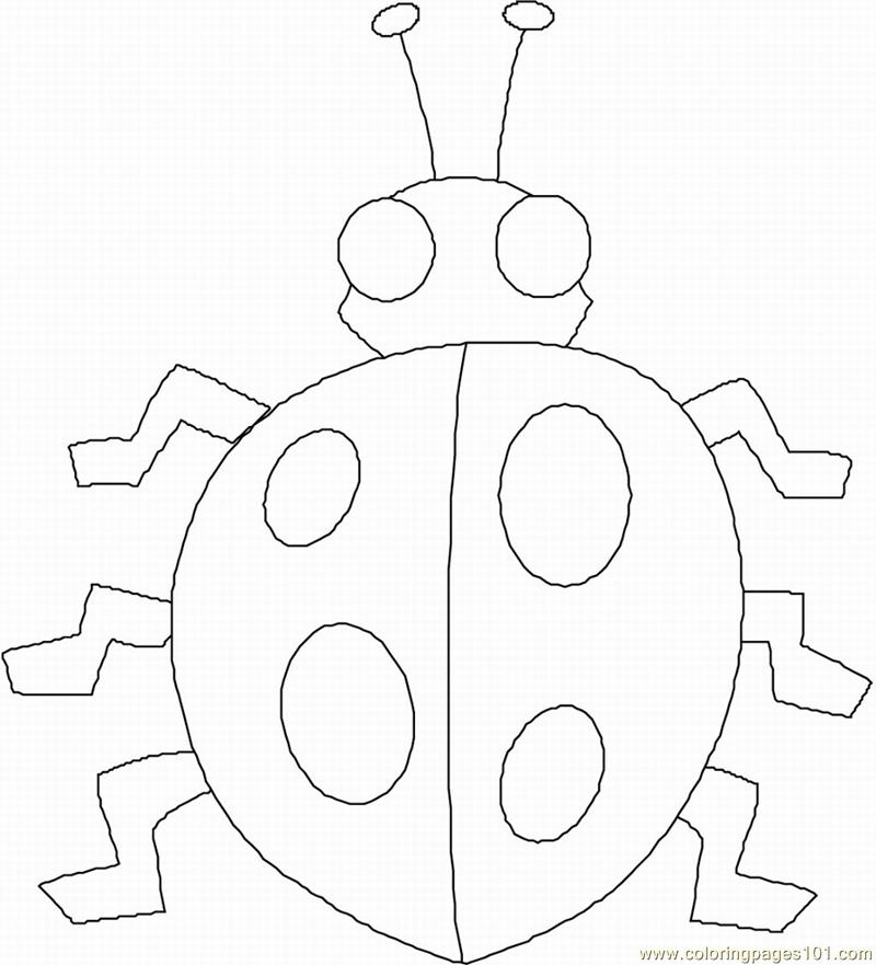 ladybug coloring pages for preschoolers - ladybug prek coloring page free ladybugs coloring pages