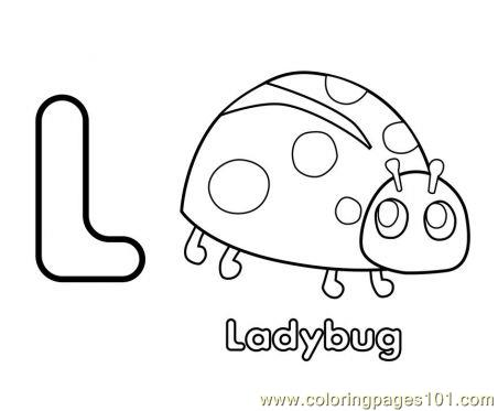 New design ladybug Coloring Page
