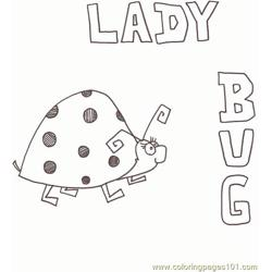 Ladybug 3 Free Coloring Page for Kids