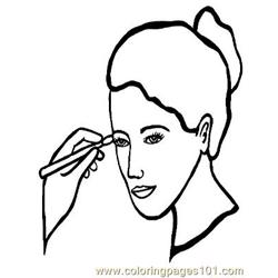 Salon 232 Free Coloring Page for Kids