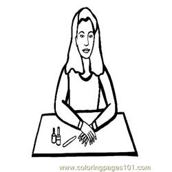 Salon 235 Free Coloring Page for Kids