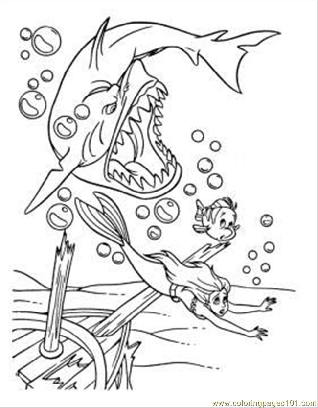 goblin shark coloring pages from shark coloring page color