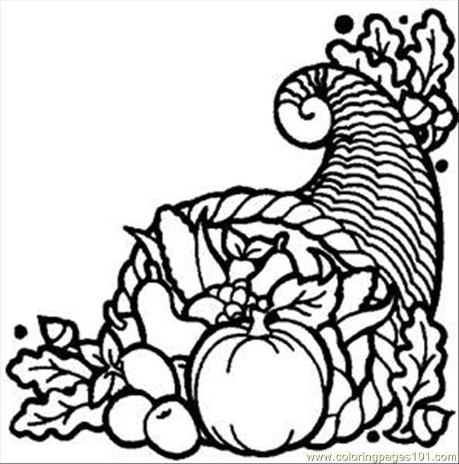 Harvest Vegetables Coloring Pages Thanks Harvest Rdax 65