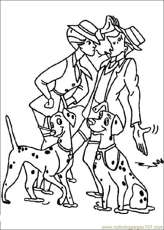 101 Dalmatians 20 Coloring Pages 101