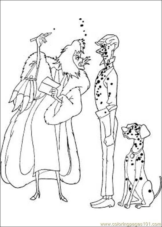 Coloring Pages 101 Dalmatians 22 Cartoons gt 101