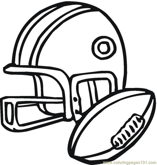 coloring pages american football 3 coloring pages 7 com