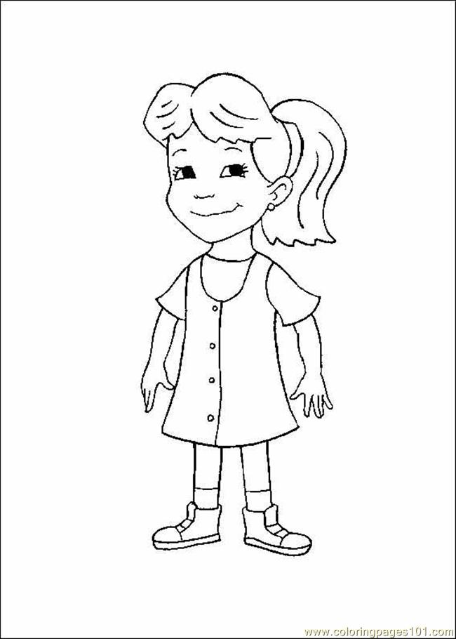 Coloring Pages Dragon Tales08 Cartoons