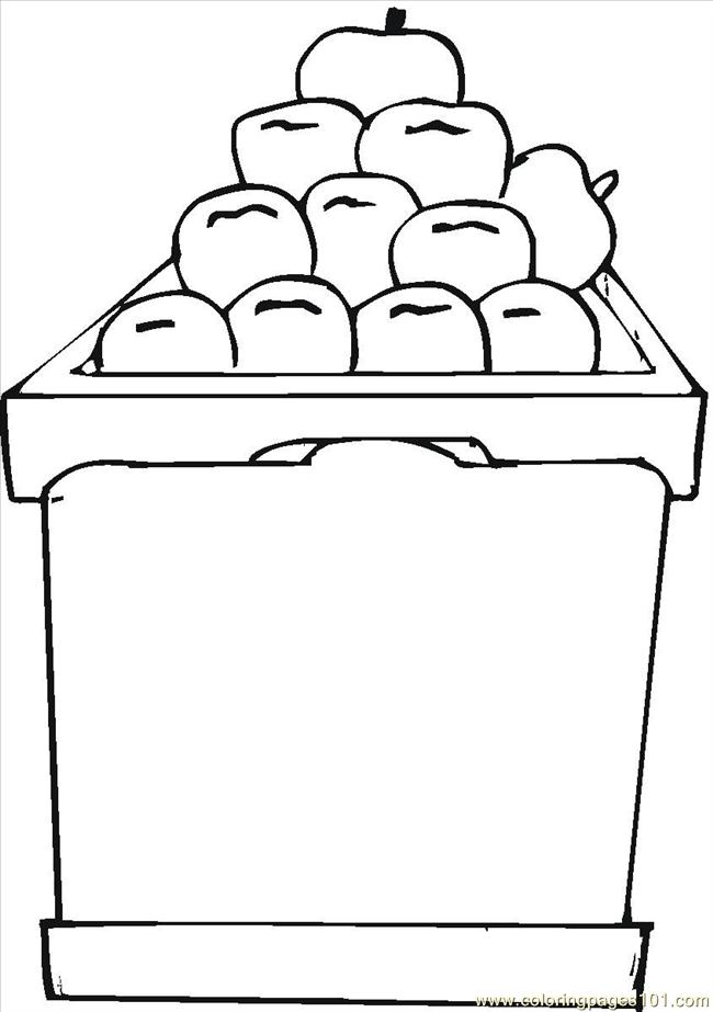 Small Apple Coloring Pages : Free small apples coloring pages