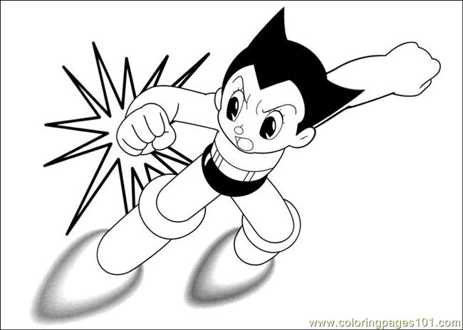 astro boy coloring pages - photo#15